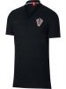 Croazia Nike Polo Maglia Sportswear Nero Cotone Mondiali Russia 2018