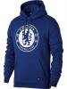 Chelsea Fc Nike Felpa Cappuccio Hoodie Blu Cotone Pullover 2017 18 Tempo Libero