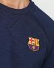 Barcellona Nike Felpa SweatShirt Pullover Sportswear Blu cotone 2018 19 Uomo