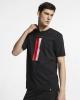PSG Nike Travel Crest tee maglia maglietta T-shirt tempo libero 2019 20 Nero