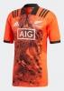 All Blacks New Zealand Adidas Maglia Allenamento Training ArancioneArancione