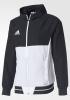 Adidas Giacca rappresentanza Pres Jacket Tiro Cappuccio Bianco Nero