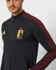 Pre-match Jacket Belgium RBFA Anthem Adidas Mens EURO 2020 Black Original