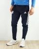 Trainingshose Olympic Lyon Original adidas Man 2020 21 Blaue Taschen mit Reißverschluss