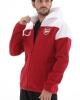 Pre-Match Jacke ARSENAL Anthem Zone Adidas Man 2020 21 Baumwolle Weiß Rot Original