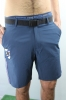 Shorts BERMUDA Sampdoria Walking Hotel Joma blue man in 2016 17 zip pockets